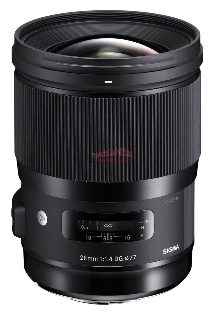 sigma 28mm F1.4 DG art