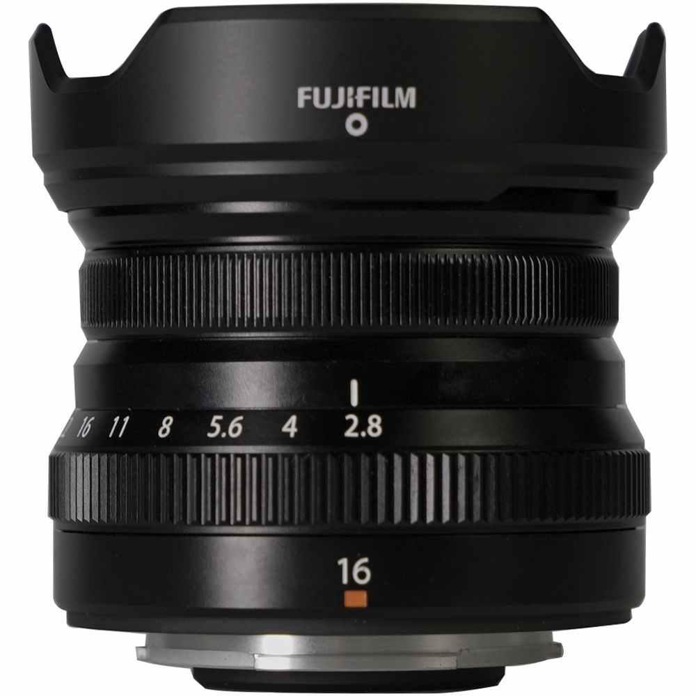 Fujifilm XF 16mm F2.8 lens images