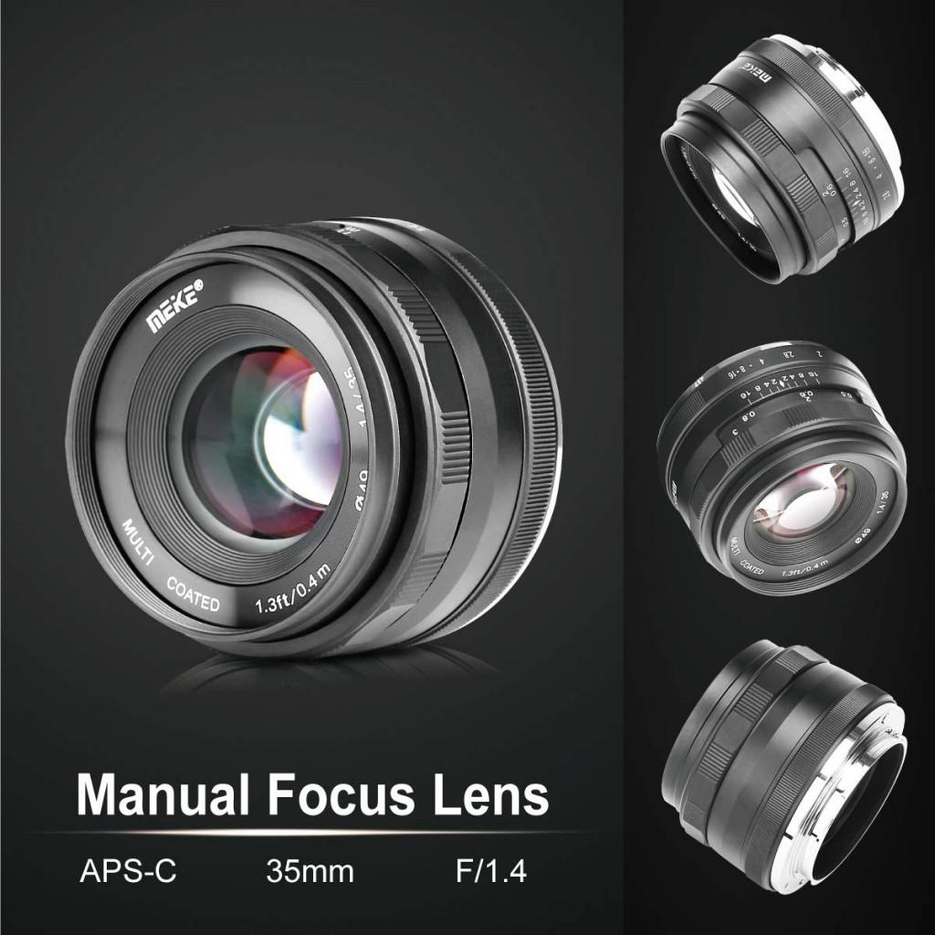 Meike 35mm F1.4lens