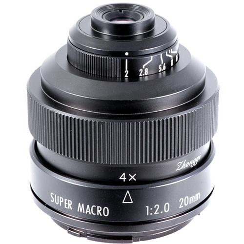 Mitakon Zhongyi 20mm f2 4.5x Super Macro Lens