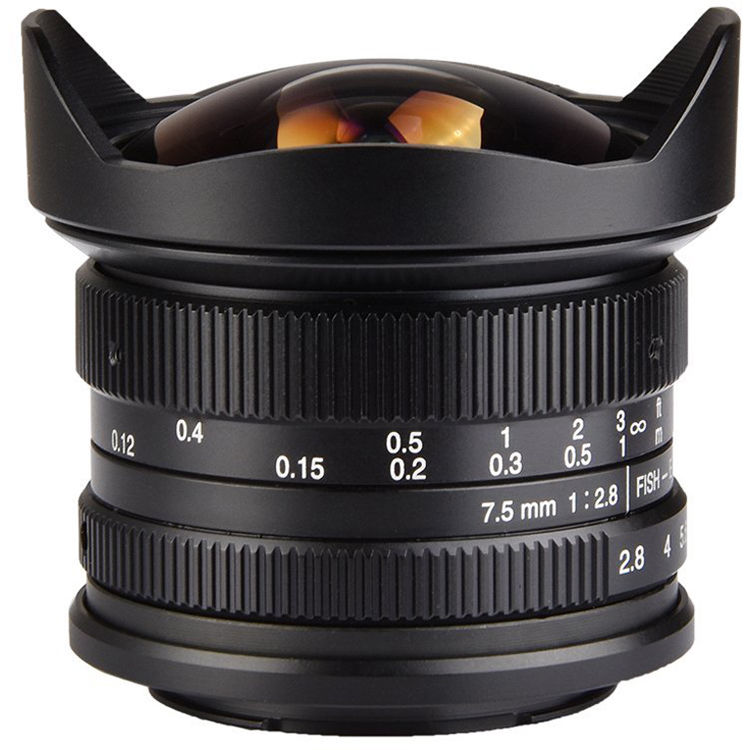 7artisans Photoelectric 7.5mm f2.8 Fisheye Lens