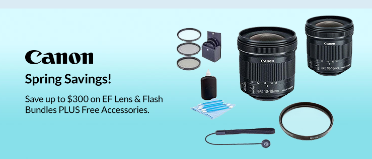 Canon Spring Savings