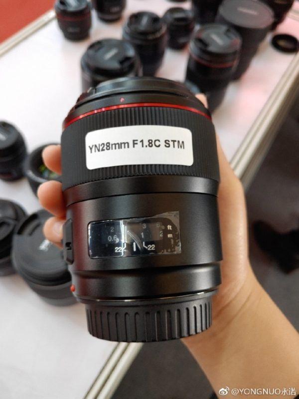 Yongnuo-28mm-f-1.8-c-stm-lens