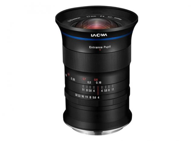 Laowa 17mm f4 Zero-D lens 2