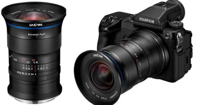 Laowa 17mm f4 Zero-D lens