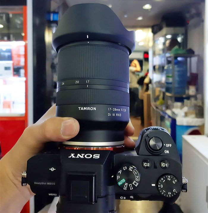 Tamron 17-28mm f//2.8 DI III Rxd for Sony Mirrorless Full Frame E Mount 6 Year Limited USA Warranty