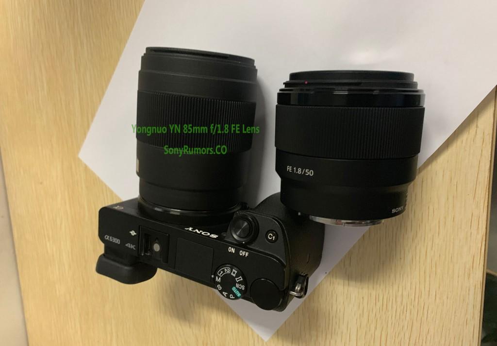 Yongnuo-YN-85mm-f-1.8-fe-lens