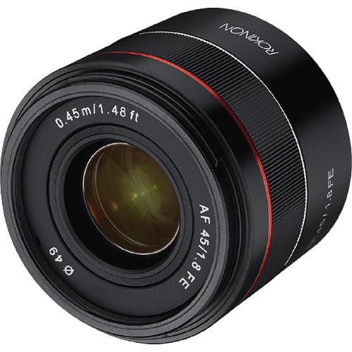 rokinon-af-45mm-f-1.8-fe-lens