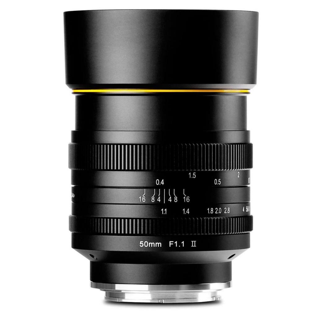 KamLan 50mm F1.1 II Micro Single Lens