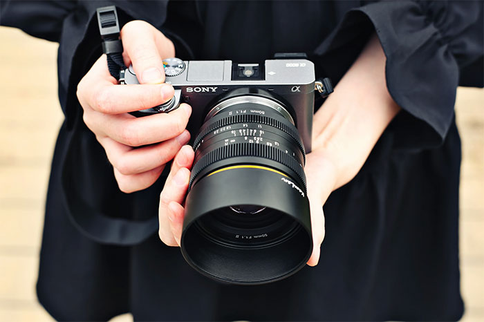 KamLan 50mm F1.1 II for sony