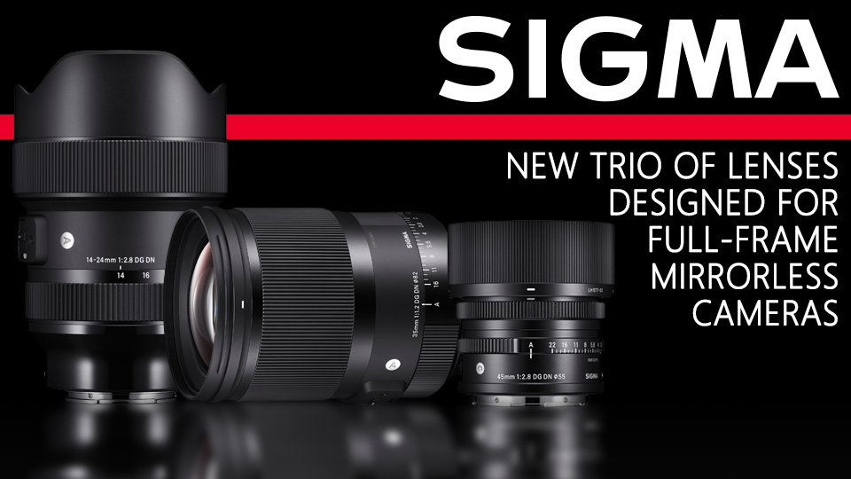 Sigma new lenses
