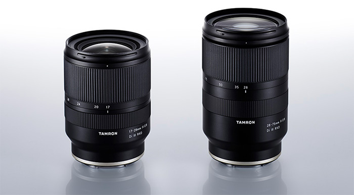 Tamron 17-28 and 28-75mm FE lenses