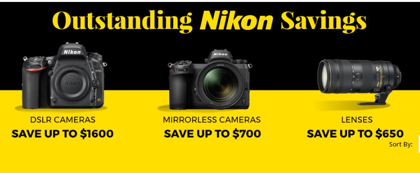 2019 Nikon Lens Green Monday Deals & Sales