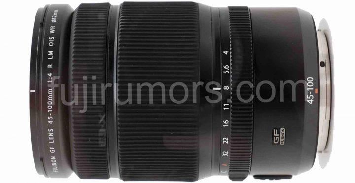Fujifilm GF 45-100mm F4 lens