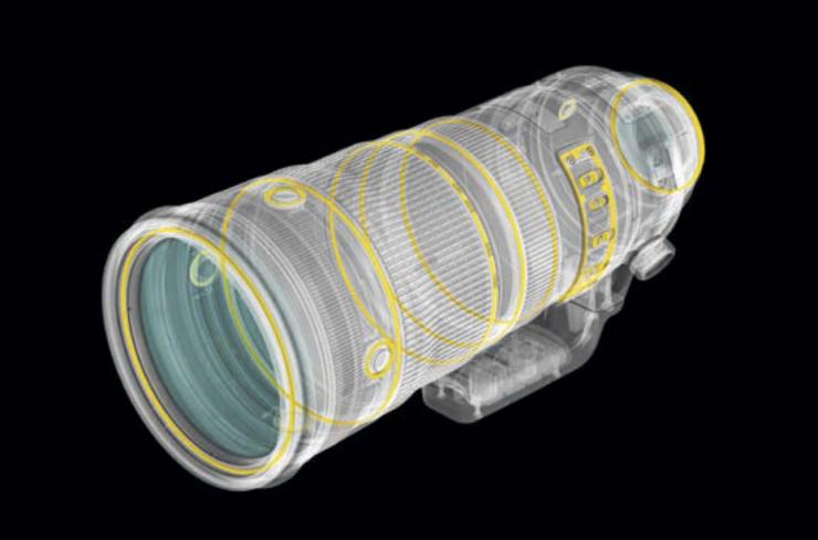 Nikon AF-S 120-300mm f2.8E FL ED SR VR-2