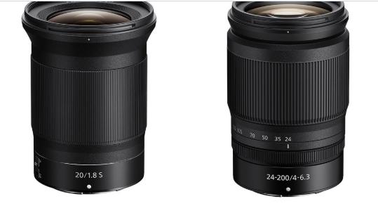 Nikon Nikkor Z new lenses