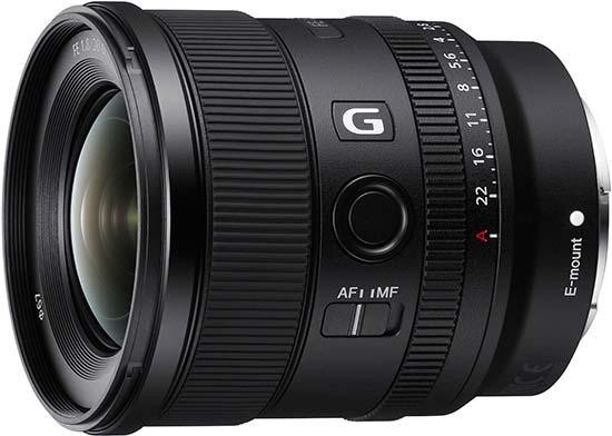 Hot Deal: $100 Off Sony FE 20mm F1.8 G Lens