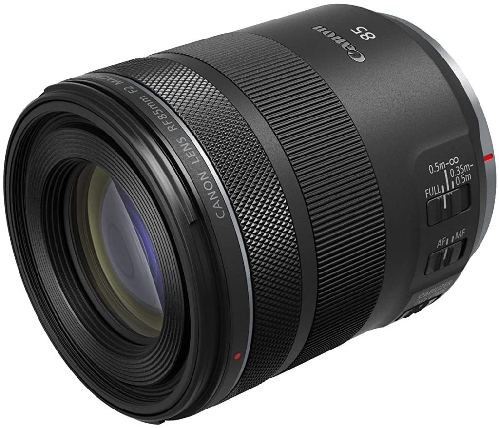 Canon RF 85mm F2 Macro IS STM Lens In Stock & Shipping