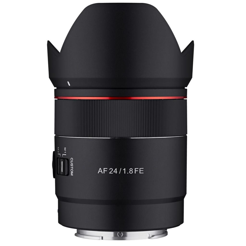 Rokinon 24mm F1.8 AF Compact FE Lens in Stock & Shipping