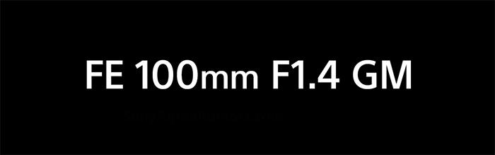 Rumored Specs of Sony FE 100mm F1.4 GM Lens Leaked