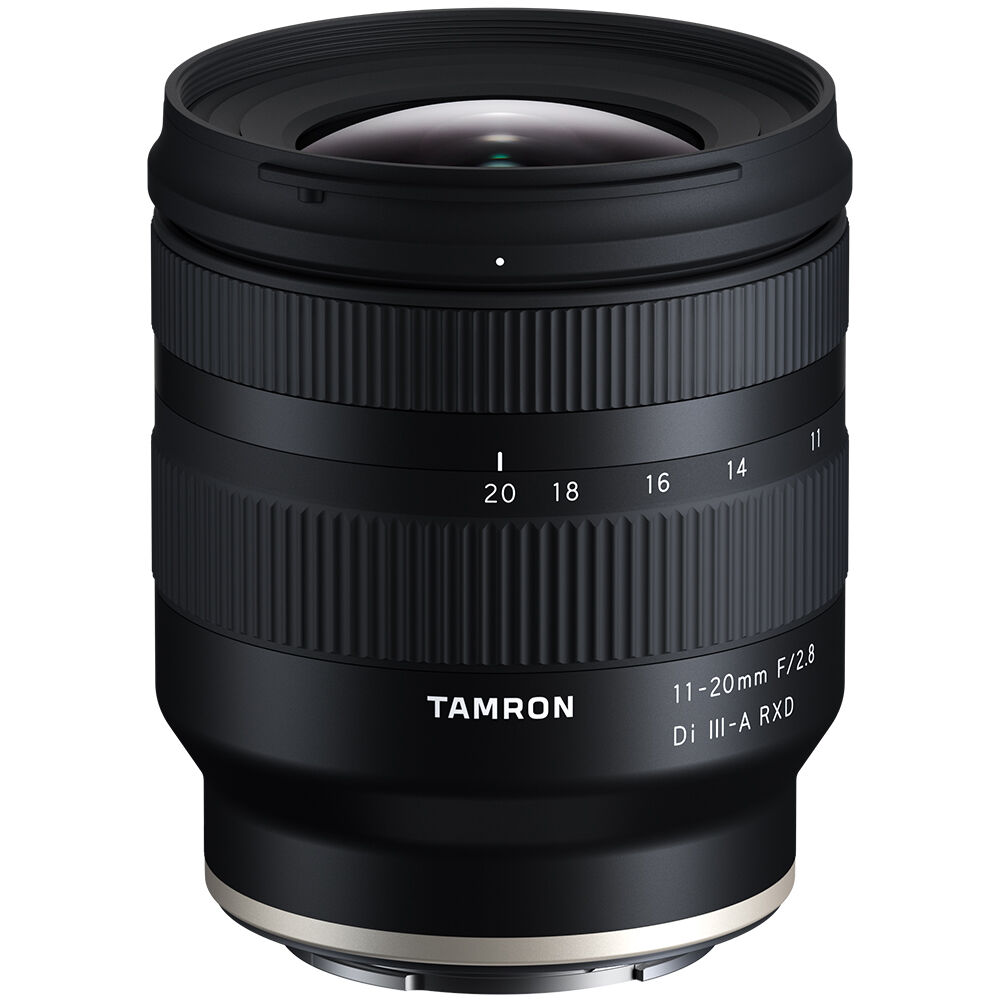 Tamron 11-20mm F2.8 Di III-A RXD Lens First In Stock & Shipping!